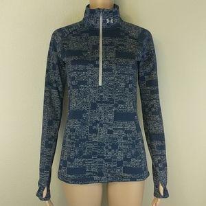 [Under Armour] Run Threadborne 1/4 Zip Pullover